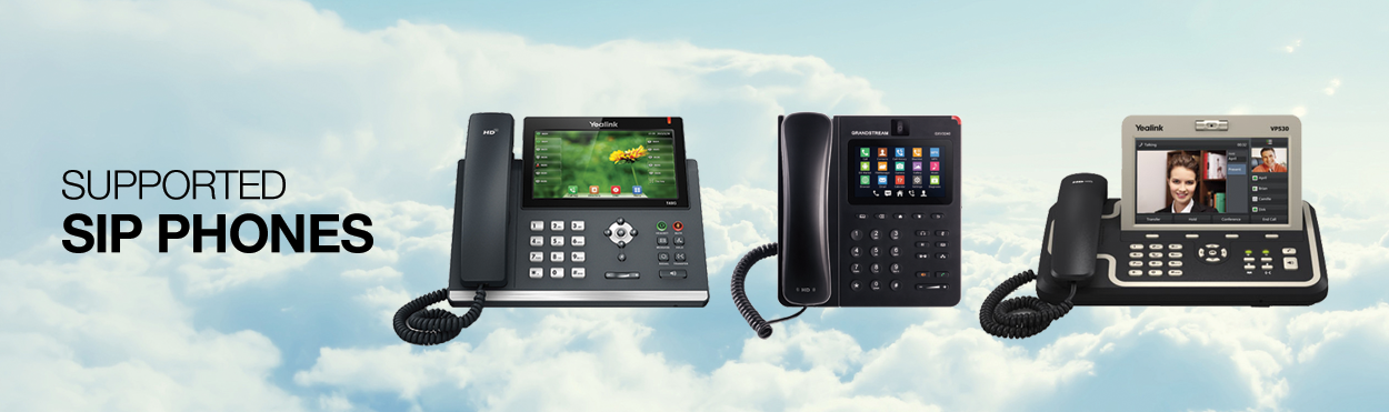 Supported SIP Phones